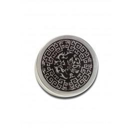 Celtic drobilec, alu, dvodelni, 50mm, srebrn