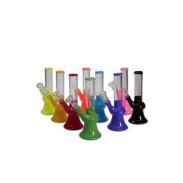 Bong, steklen, BONG ICE, različne barve, 190mm