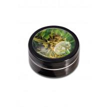 Drobilec Weed Black Leaf, alu, dvodelni, 50mm, črn ( 43 02 07-WE )