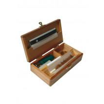 Škatla Deluxe, lesena, 155x80x40mm ( 55 07 08 )