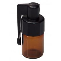 Steklenička z žličko, rjava  ( SN 19 )