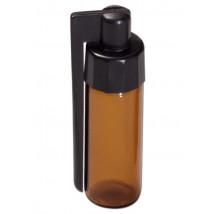 Steklenička z žličko, rjava H 56mm ( SN 20 )