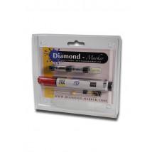 Skrivalna doza v obliki označevalnika besedila, Diamond
