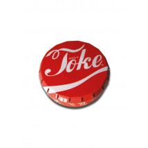 Pločevinka za shranjevanje Clickclack Toke, rdeča