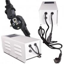 Magnetna dušilka v škatli z varovalko 600 W Hortilight