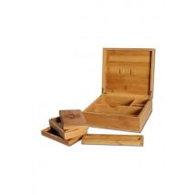 Škatla lesena Bambus 210x190x74mm ( 36 14 01-B )