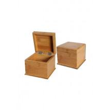 Škatla Bambus Dvojno dno 128x128x105mm ( 36 14 03 )